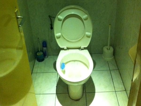 Het toilet van Diamant verdient een aparte vermelding.