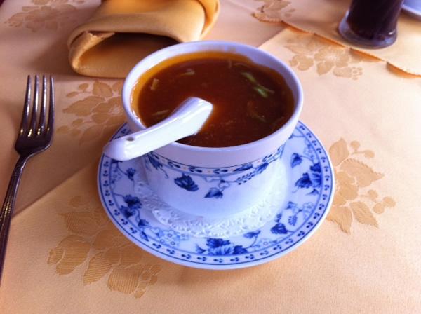 De tomatensoep van Woe Ping